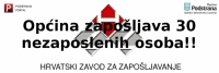 Javni poziv za zapošljavanje nezaposlenih osoba u Programu javnih radova na području Općine Podstrana